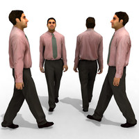 3d Model - Business Male #8a