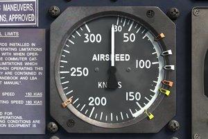 3d airspeed indicator