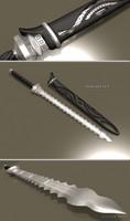 grim reaper sword 3d model