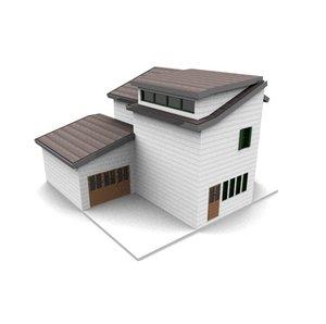 3ds american neighborhood house