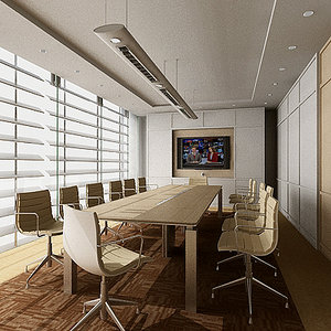 3d 3ds conference room