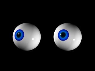 3d x-form eyeballs control model