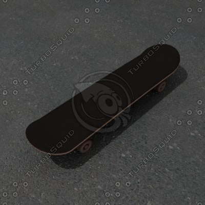 3ds max skateboard
