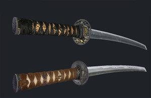 maya samurai swords