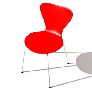 3d model of ant chair