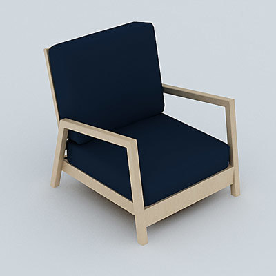 chair armchair 3ds