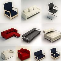 chair armchair sofa 3d fbx
