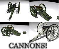 Cannon Collection_3ds.zip