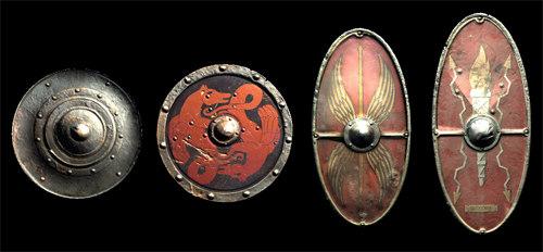 3d viking shields