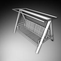 3d model hammock bed