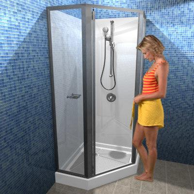 3d shower faucet head