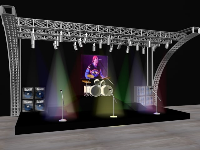 concert stage max