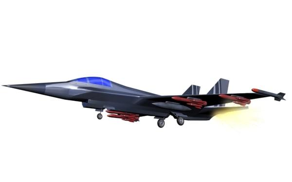 3d model tiger110 fighter