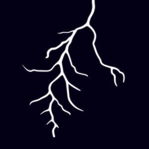 3d bolt ligthing thunder model