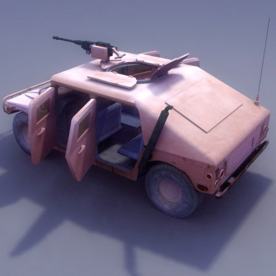 maya vehicle hmmwv m1025 multi
