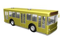 realistic city bus max