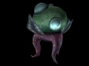 3d plant squid