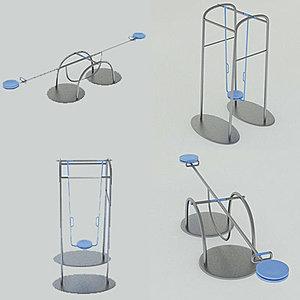 3d playground equipment