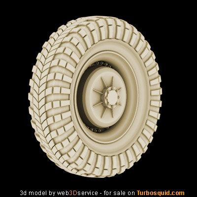 maya military armored car wheel