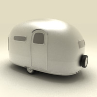 Basic Airstream Trailer