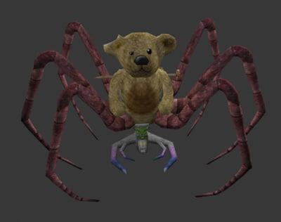 3ds spider bear