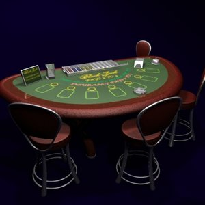 max blackjack table