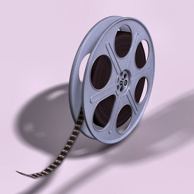 3d max 35mm movie reel