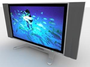 3d sharp flat screen