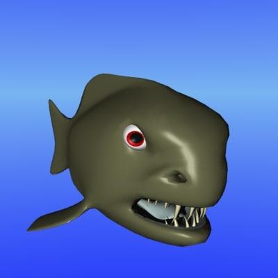 vicious fish 3d lwo