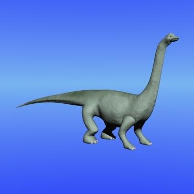 plant dinosaur 3d model