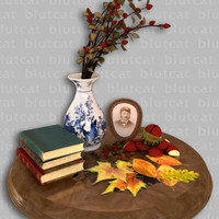 autumnal memories 3d ma