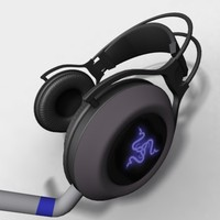 headphones ear 3d model