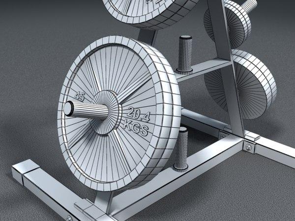 maya weight set gym equipment