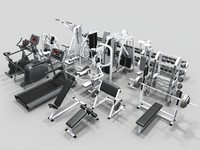 maya weight set gym equipment