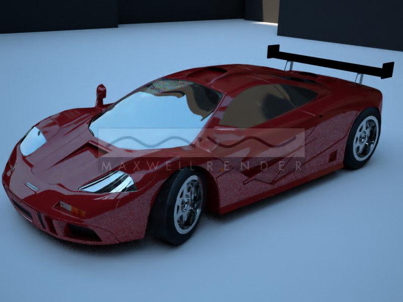 3d mclaren car vehicle