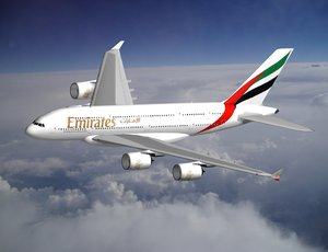 lightwave airbus a380 emirates