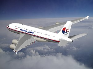 airbus a-380 malaysia 3d 3ds