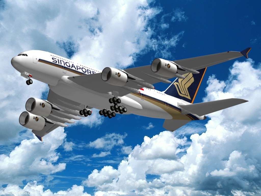 maya airbus a-380 singapore airlines