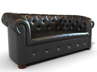 Chesterfield Suite - Couch and chairs