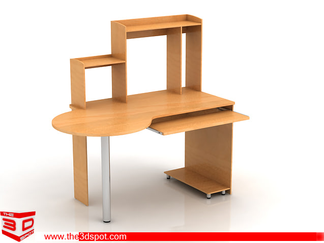 3d model of trolly computer