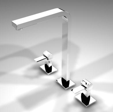 3d model of polygonal mixer