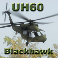 3d uh60l blackhawk helicopter model
