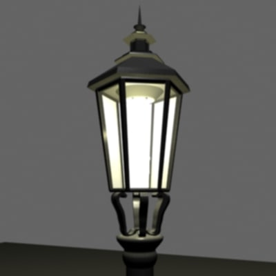 street lamp prague 3ds