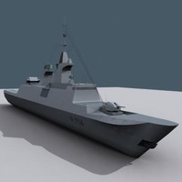 Guepratte - Stealth Frigate, french navy