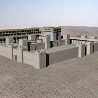 herod temple 3d model