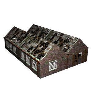 derelict warehouse lwo