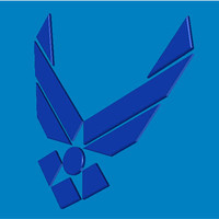 3d lwo logo air force