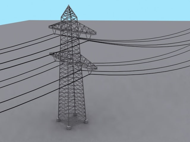 electricity pylon max