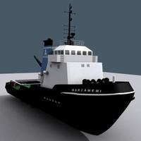 marzamemi - Tug boat