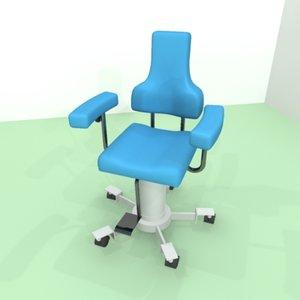 chair medic 3d model